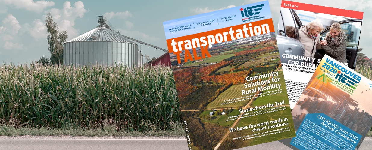 In the Fall edition of Transportation Talk...