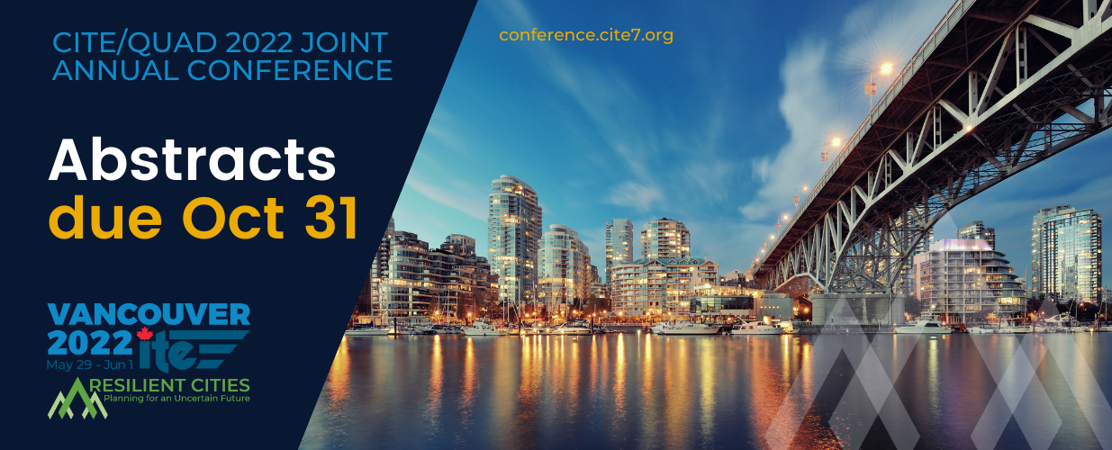 CITE/QUAD Joint 2022 Conference Call for Abstracts